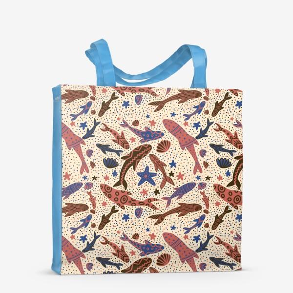 Сумка-шоппер «Этника рыбы»
