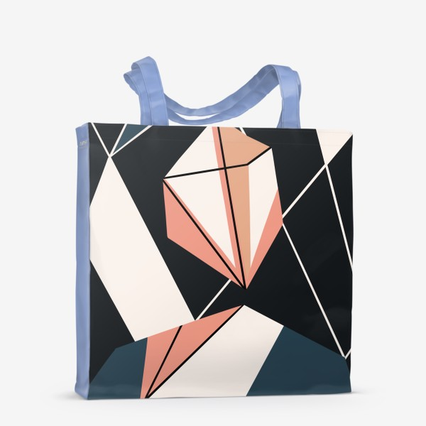 Сумка-шоппер «Абстрактный принт»