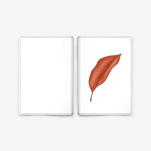 Обложка для паспорта «Тропики лист»