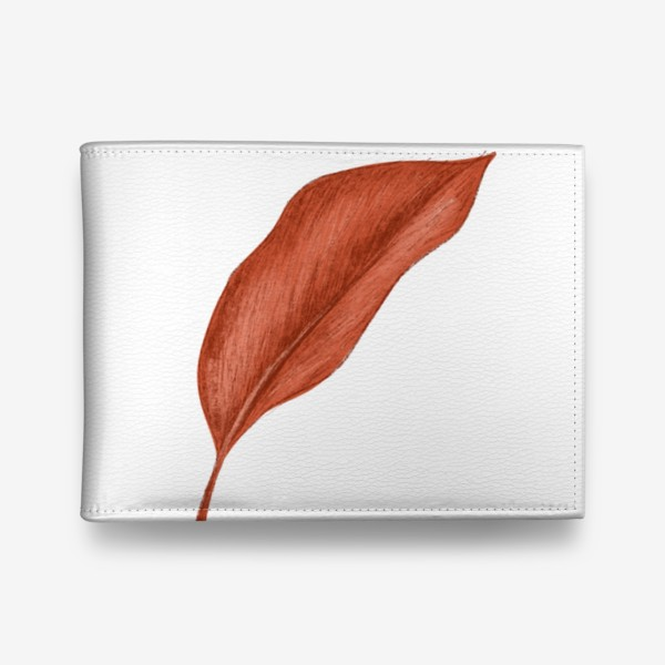 Кошелек «Тропики лист»