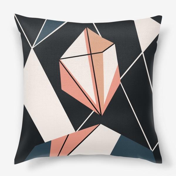 Подушка «Абстрактный принт»