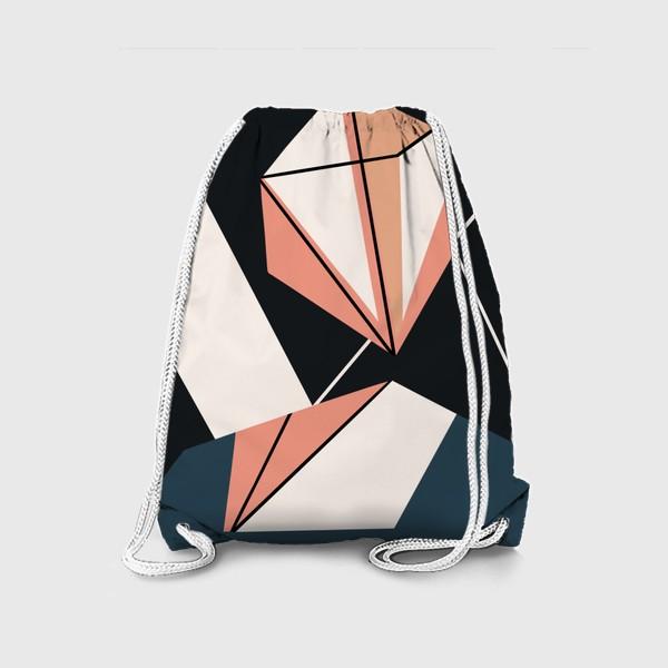 Рюкзак «Абстрактный принт»