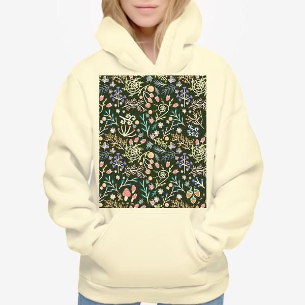 Худи «Жуки, грибы, растения»