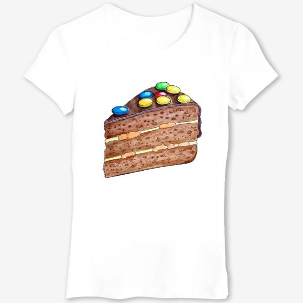 Футболка «Тортик с M&M's»