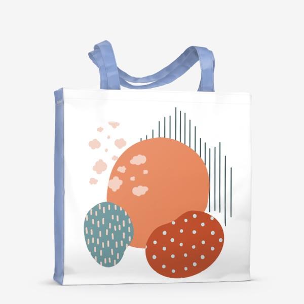 Сумка-шоппер «Абстрактные пятна»