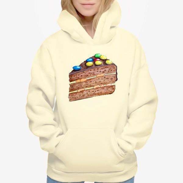 Худи «Тортик с M&M's»
