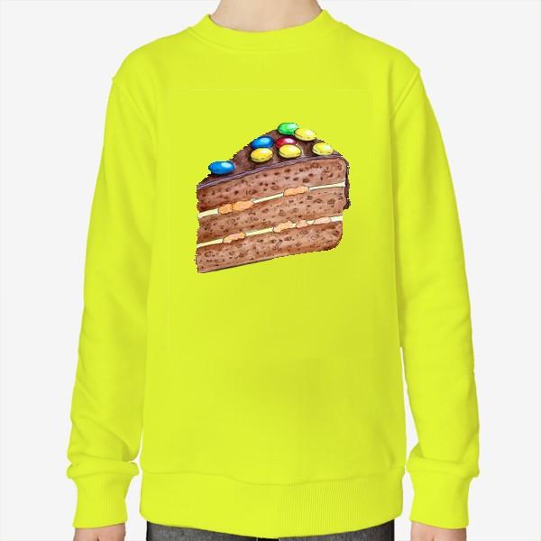 Свитшот «Тортик с M&M's»