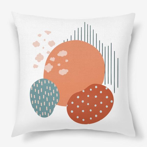 Подушка «Абстрактные пятна»