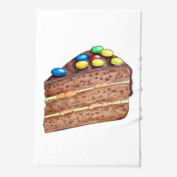 Полотенце «Тортик с M&M's»
