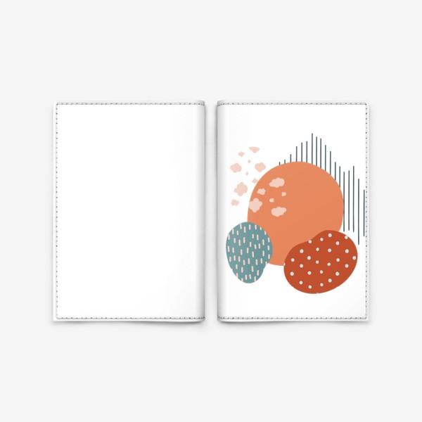 Обложка для паспорта «Абстрактные пятна»
