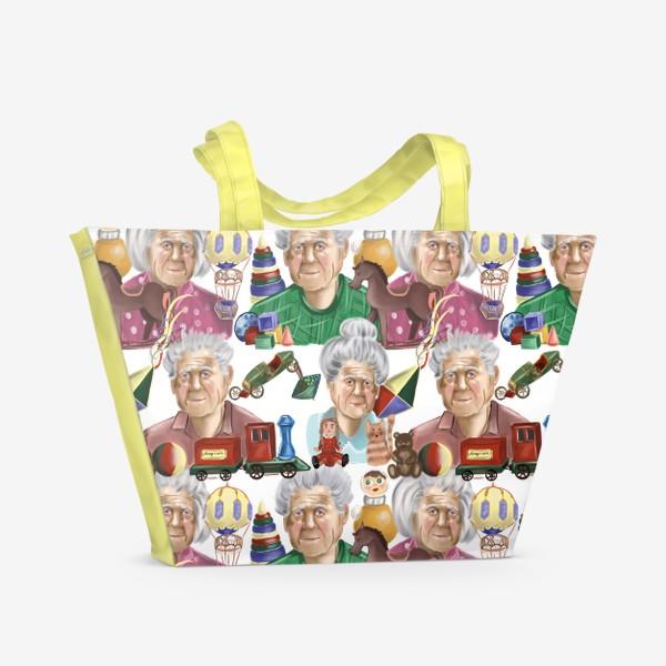 Пляжная сумка «Любимые игрушки »