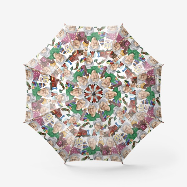 Зонт «Любимые игрушки »