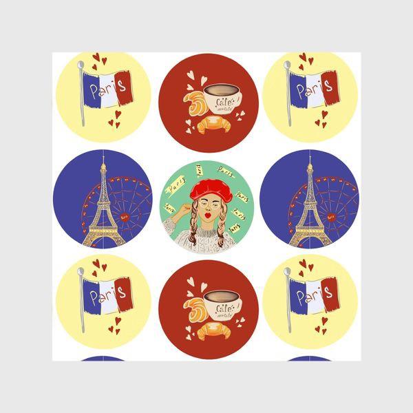 Шторы «Paris moments »