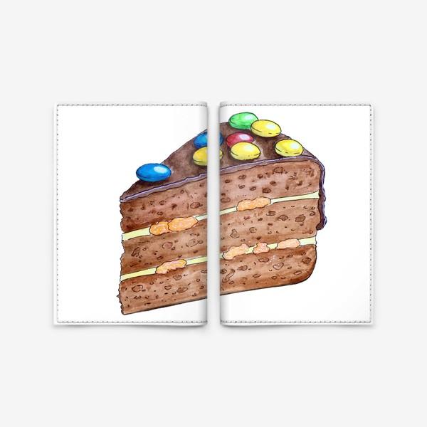 Обложка для паспорта «Тортик с M&M's»