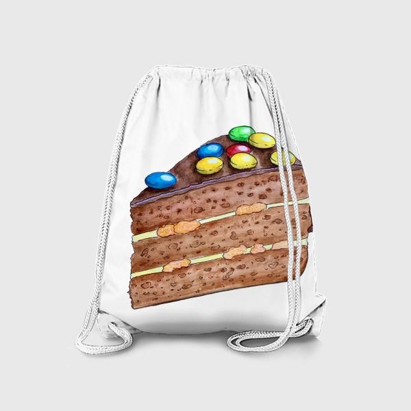 Рюкзак «Тортик с M&M's»