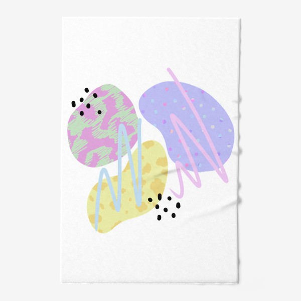 Полотенце «Абстрактные пятна »