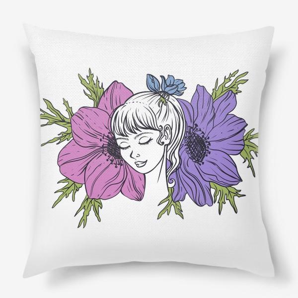 Подушка «Анемона»