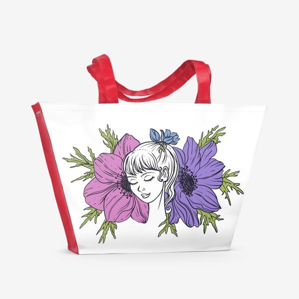 Пляжная сумка «Анемона»