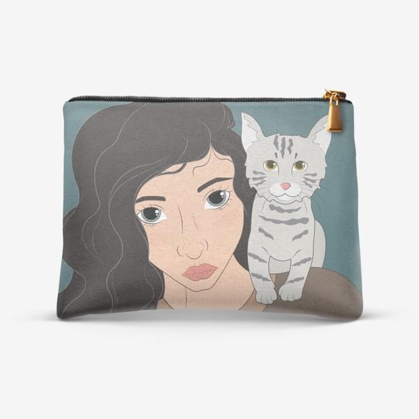 Косметичка «I love cats»