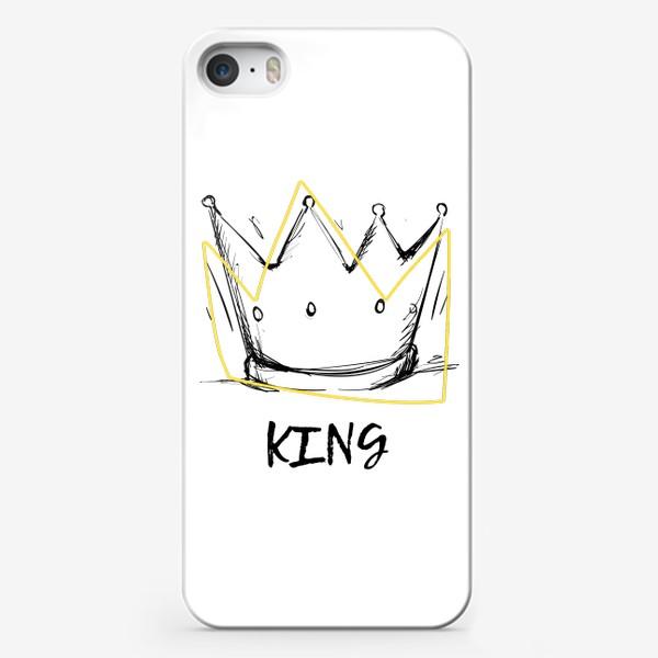Чехол iPhone «KING/Король»