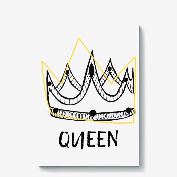 Холст «QUEEN/Королева»