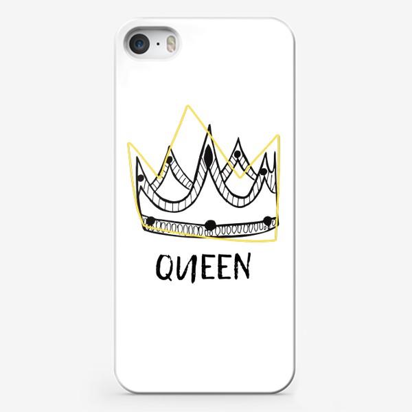 Чехол iPhone «QUEEN/Королева»