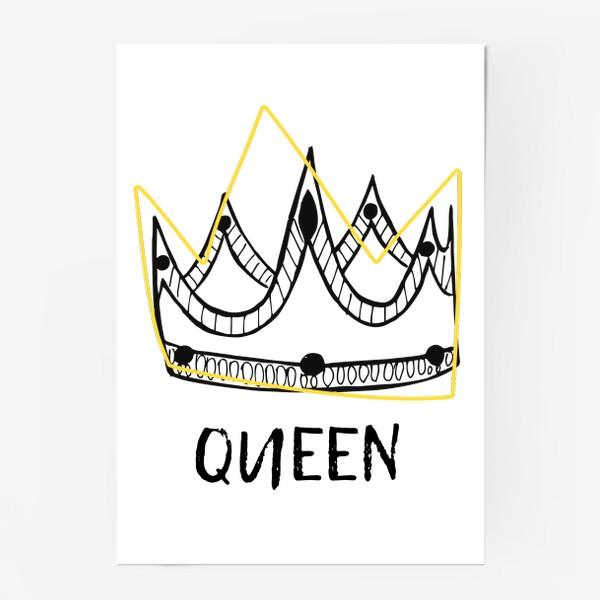 Постер «QUEEN/Королева»