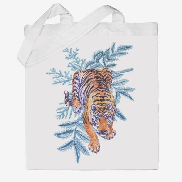 Сумка хб «Тигр»