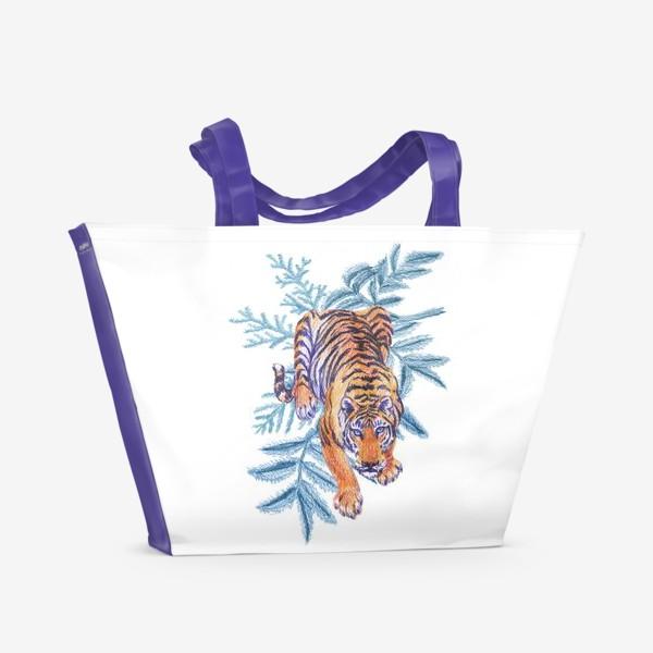 Пляжная сумка «Тигр»
