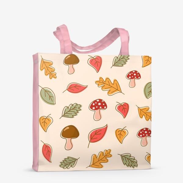 Сумка-шоппер «Осенний паттерн»