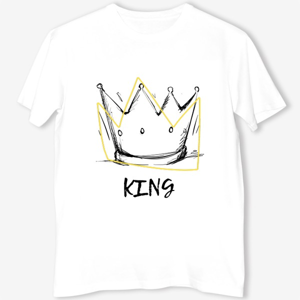 Футболка «KING/Король»