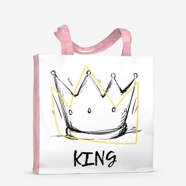 Сумка-шоппер «KING/Король»