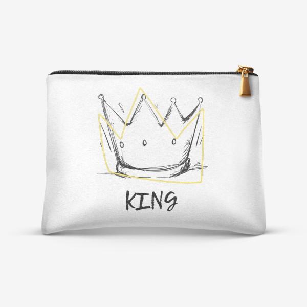 Косметичка «KING/Король»