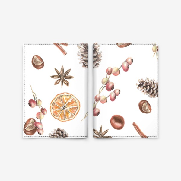 Обложка для паспорта «Осеннее настроение»