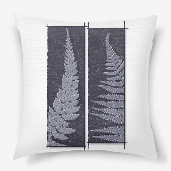 Подушка «Two Ferns»