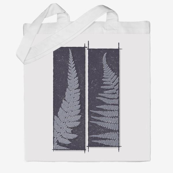 Сумка хб «Two Ferns»