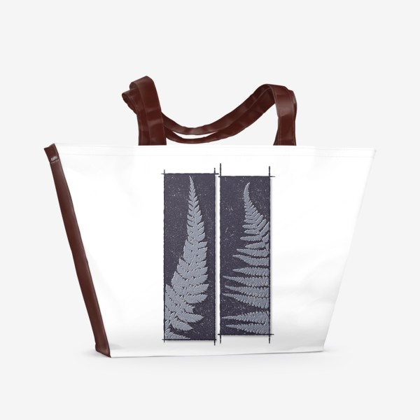 Пляжная сумка «Two Ferns»