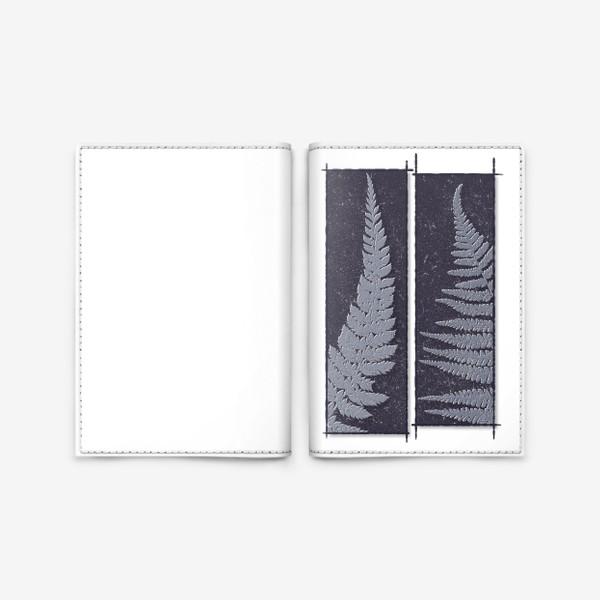Обложка для паспорта «Two Ferns»