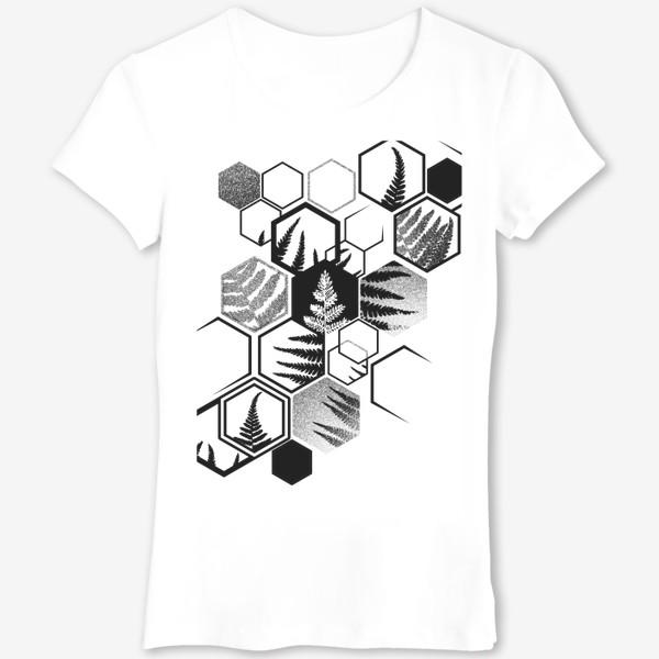 Футболка «Hexagonal Fern»