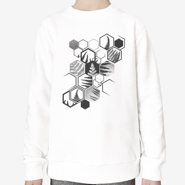 Свитшот «Hexagonal Fern»