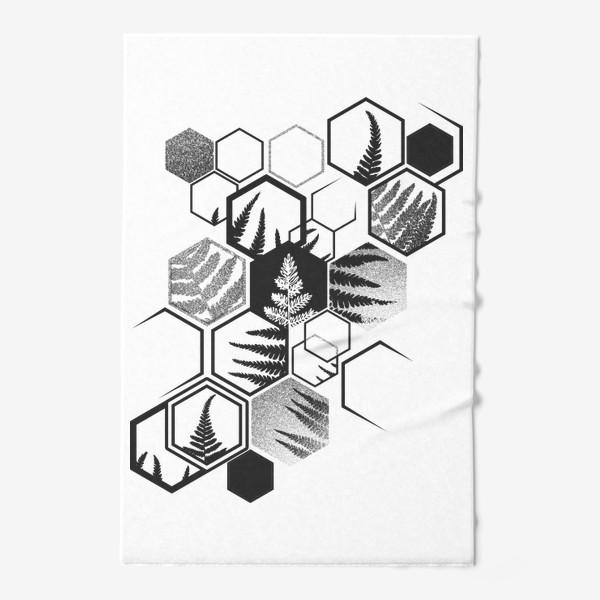 Полотенце «Hexagonal Fern»