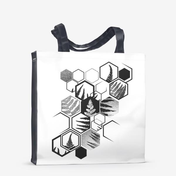 Сумка-шоппер «Hexagonal Fern»