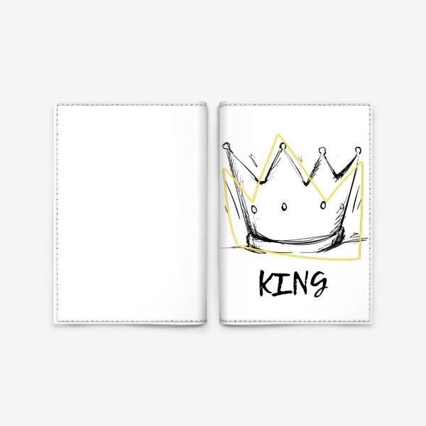 Обложка для паспорта «KING/Король»