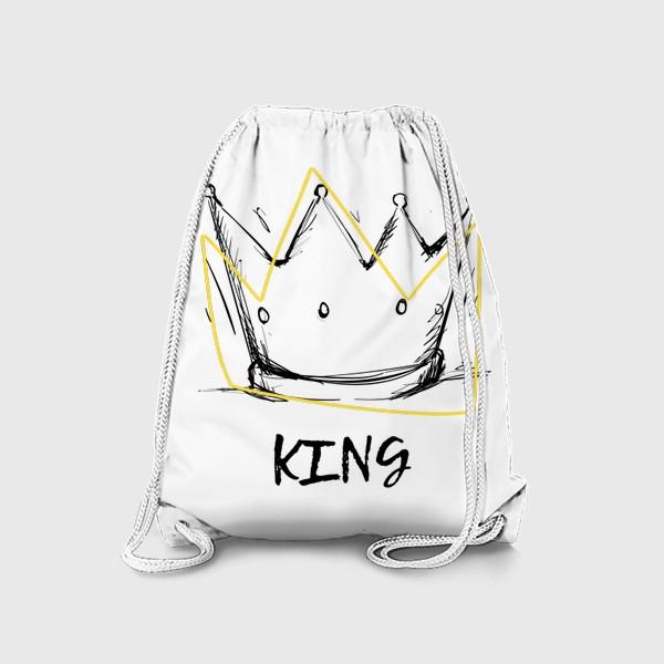 Рюкзак «KING/Король»