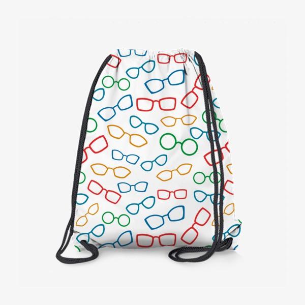 Рюкзак «Паттерн с очками»
