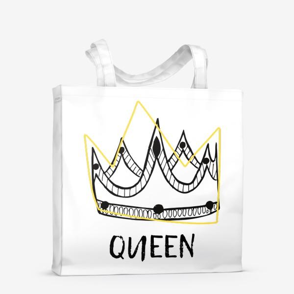 Сумка-шоппер «QUEEN/Королева»