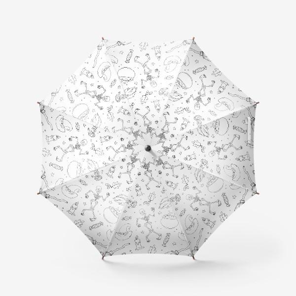 Зонт «хэллоуин»
