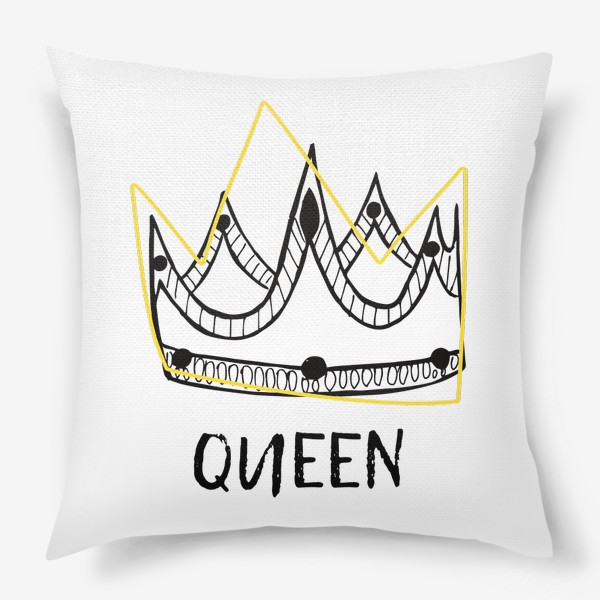 Подушка «QUEEN/Королева»