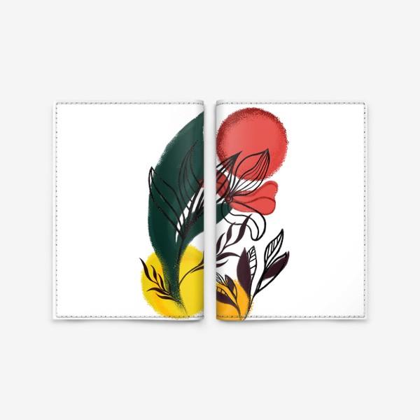 Обложка для паспорта «Абстракция. Линии и цвет.»