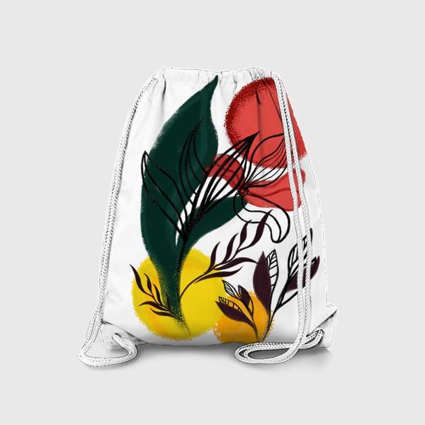 Рюкзак «Абстракция. Линии и цвет.»